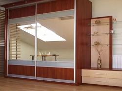Двери-купе с зеркалом. Пример 11